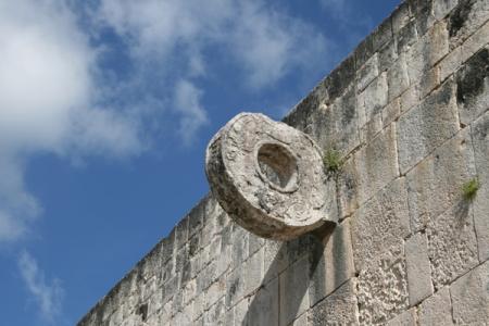 古代競技場のゴール