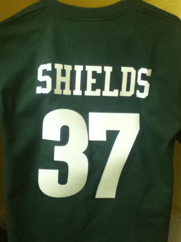 スーパーボウル観戦用に買ったGBのCBシールズのシャツ